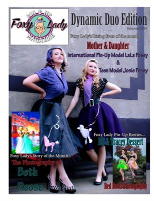 Foxy Lady Pin-Up Magazine Duo Edition 2016