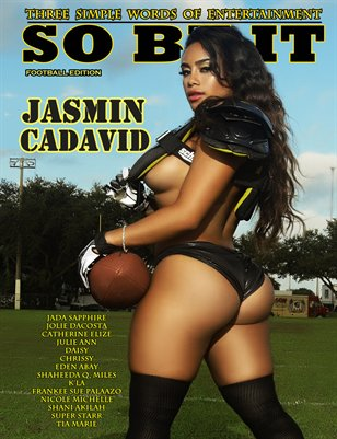SO BE IT MAGAZINE Football issue (JASMIN CADAVID)