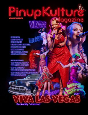 Pinup Kulture Magazine Volume 4, Issue 8