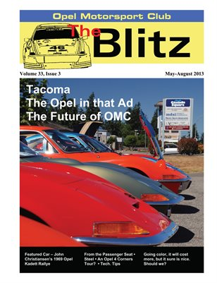 The Blitz, May-Aug 2013