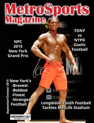 MetroSports Magazine Sept/Oct 2015 NPC NY State Grand Prix Issue