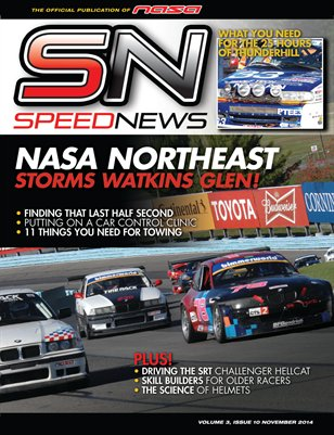 NASA Speed News November 2014