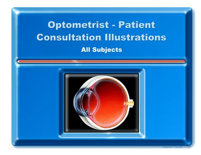 Optometrist-Patient Consultation Illustrations - All Subjects Portfolio-Deluxe Edition