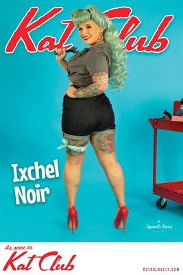 Kat Club No.39 – Ixchel Noir Cover Poster