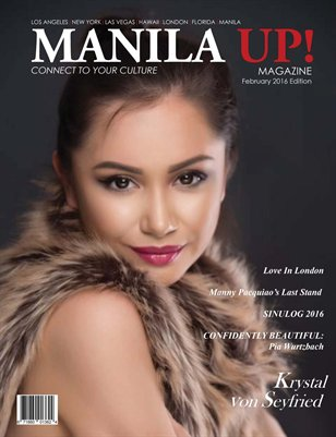 MANILA UP! FEBRUARY ISSUE