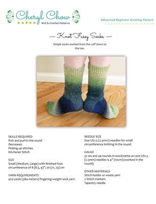 Knot Fussy Socks