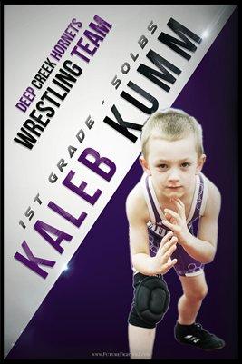 Kaleb Kumm DC #1 Poster
