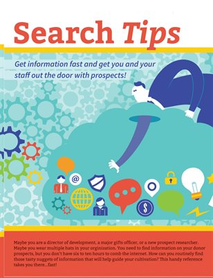 Search Tips 4Fundraising Research