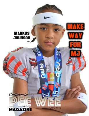 California Pee Wee Magazine May 2019 Markus Johnson