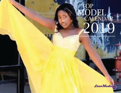 Top Cover Model Calendar V 50%off