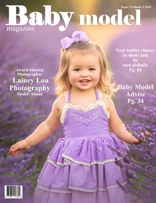 Baby model magazine Issue 3 Volume 5 2019
