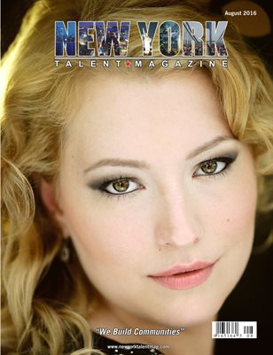 New York Talent Magazine August 2016 Edition