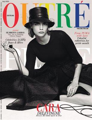 OUTRÉ Magazine - CARA DELEVINGNE - July/2020 - #1