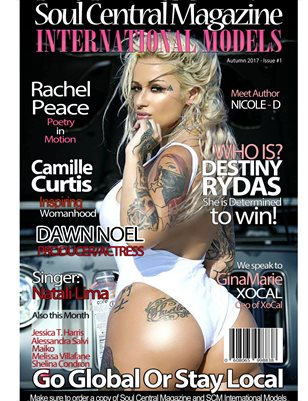 International Models Magazine #Cover #Destiny Rydas #1st #Edition