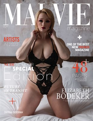 MALVIE Mag | NUDE and Boudoir Special Edition | Vol. 06 | MAY 2020