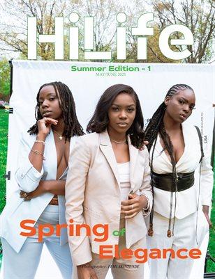 HiLife Magazine May/June 2021 Summer Edition Vol-01