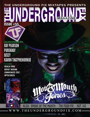 The Underground Fix Magazine Issue #55