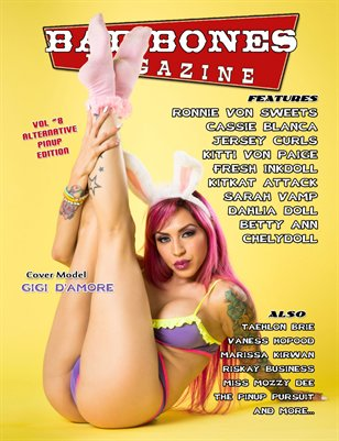 BAD BONES Magazine #8 Alternative Pinup Edition