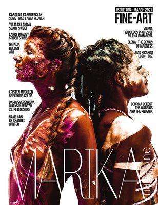 MARIKA MAGAZINE FINE-ART (ISSUE 706 - MARCH)