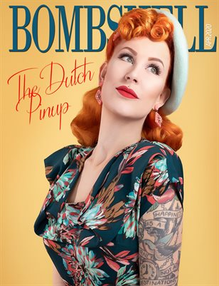 BOMBSHELL Magazine April 2020 BOOK 1 - The Dutch Pinup Cover