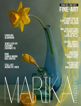 MARIKA MAGAZINE FINE-ART (ISSUE 924 - MAY)