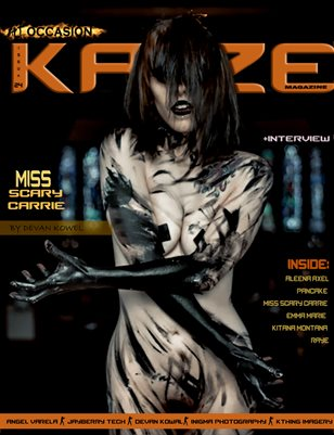 Kayze magazine issue 24 (miss scary carrie) ALT-OCCASION