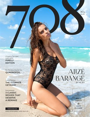 708 Magazine Issue 5 - Alizè Barangè Cover