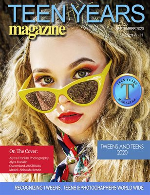 TEEN YEARS MAGAZINE - PREMIER - STUDIOS A-H