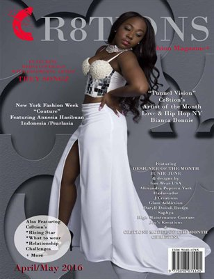Bianca Bonnie (High Maintanence) Cover April/May 2016 Issue