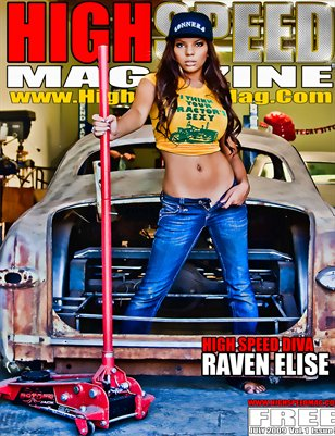 July 2009 - Raven Elise High Speed Magazine Issue