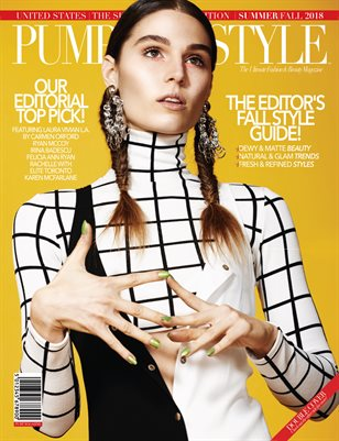 PUMP Magazine: The Editor's Fall Fashion Guide Featuring Laura Vivian L.A. by Carmen Orford