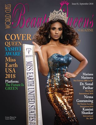 World Class Beauty Queens Magazine Issue 81 with Yashvi Aware