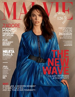 MALVIE Magazine The Artist Edition Vol 126 January 2021