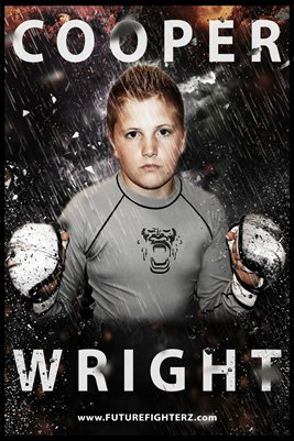 Cooper Wright Storm Poster