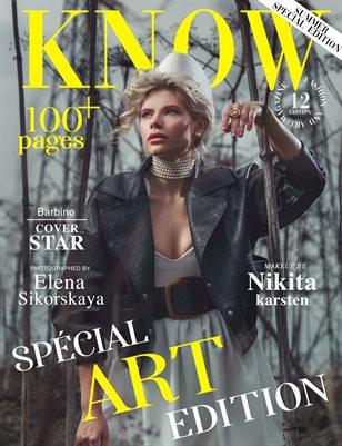 KNOW Magazine The Art Edition June 2021_Barbino