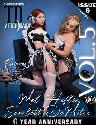 TDM Mel Heflin &Scarlett DeMitro After Dark 6th Anniversary vol.5 cover 1