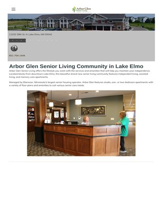 Independent Living in Lake Elmo