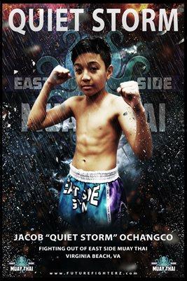 Jacob Ochangco Storm Poster