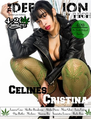 The Definition of High: The Chronic issue 4: Celines Cristina cover