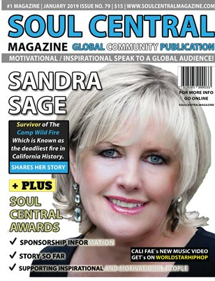 Soul Central Magazine Edition 79 Sandra Sage