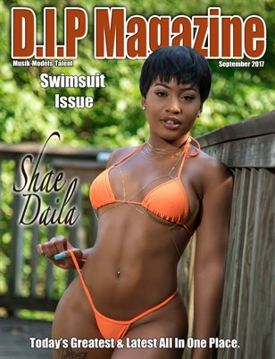 D.I.P Magazine Swimsuit Issue Cover Shae Daila