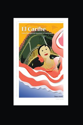 Caribe Poster 12 x18