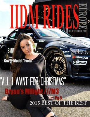 IIDM RIDES Europe Magazine