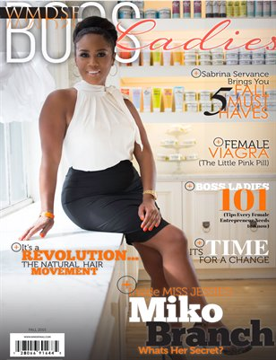 WMDSF Boss Ladies Magazine Fall Edition 2015