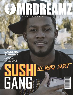 Mr Dreamz magazine Lil Rari Skrt (SUSHI GANG - FGC Dynasty 2020)