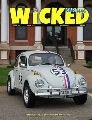 WICKED CAR MAG - JUNE - HERBIE