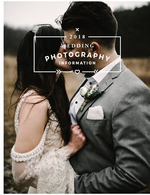 2018 Pricing for Wedding Photography