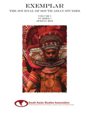 Exemplar: The Journal Of South Asian Studies - v1n1