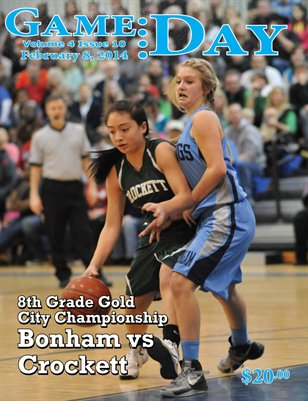 Volume 4 Issue 10 - Bonham vs Crockett 8th Gold Championship