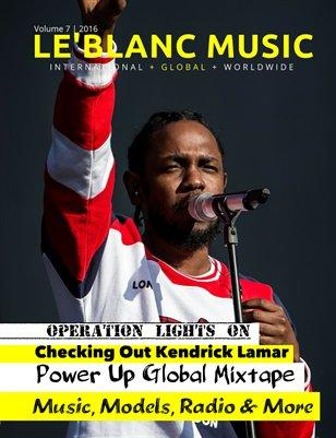 Le'Blanc Music Mag Vol. 7- Kendrick Lamar